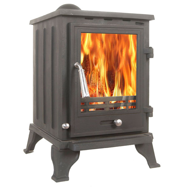 The Rosa 5kw Multifuel Wood Burning Stove
